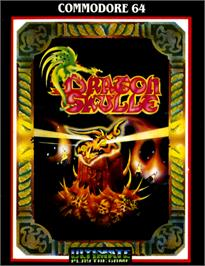 Box cover for Dragonskulle on the Commodore 64.
