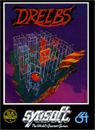 Box cover for Drelbs on the Commodore 64.