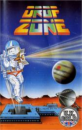 Box cover for Dropzone on the Commodore 64.