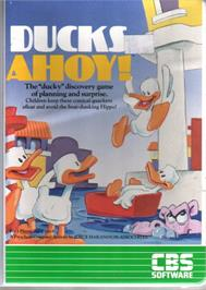 Box cover for Ducks Ahoy! on the Commodore 64.