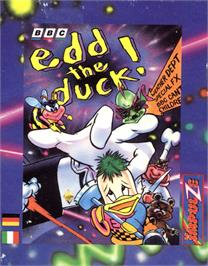 Box cover for Edd the Duck! on the Commodore 64.