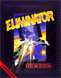 Box cover for Eliminator on the Commodore 64.