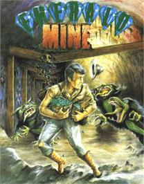 Box cover for Emerald Mine on the Commodore 64.