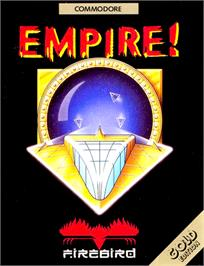 Box cover for Empire: Wargame of the Century on the Commodore 64.