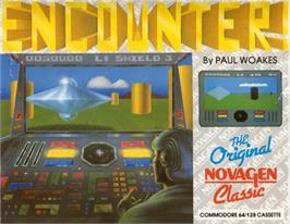 Box cover for Encounter! on the Commodore 64.