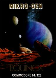 Box cover for Equinox on the Commodore 64.