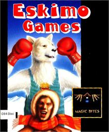 Box cover for Eskimo Games on the Commodore 64.