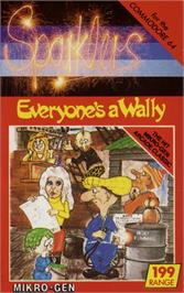 Box cover for Everyone's A Wally on the Commodore 64.