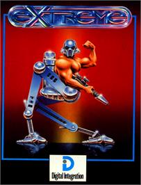 Box cover for Extreme on the Commodore 64.