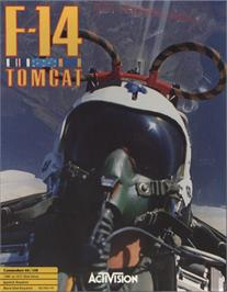 Box cover for F-14 Tomcat on the Commodore 64.