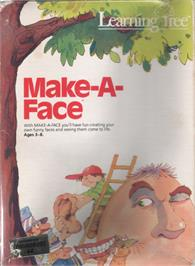 Box cover for FaceMaker on the Commodore 64.