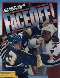 Box cover for Face Off! on the Commodore 64.