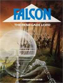 Box cover for Falcon: The Renegade Lord on the Commodore 64.