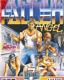 Box cover for Fallen Angel on the Commodore 64.