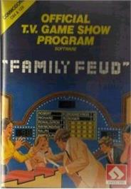 Box cover for Family Feud on the Commodore 64.