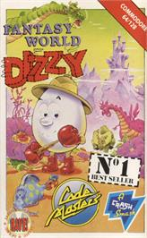 Box cover for Fantasy World Dizzy on the Commodore 64.