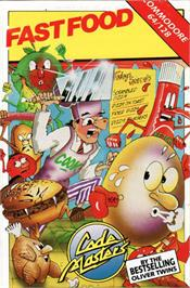 Box cover for Fast Food on the Commodore 64.