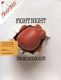 Box cover for Fight Night on the Commodore 64.