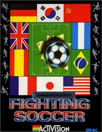 Box cover for Fighting Soccer on the Commodore 64.