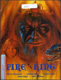 Box cover for Fire King on the Commodore 64.