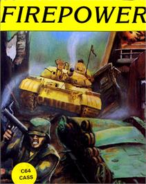 Box cover for Fire Power on the Commodore 64.