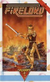 Box cover for Firelord on the Commodore 64.