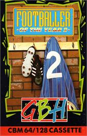 Box cover for Footballer of the Year 2 on the Commodore 64.