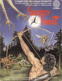 Box cover for Forbidden Forest on the Commodore 64.