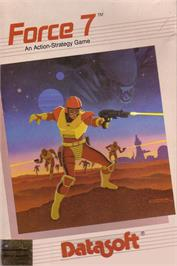 Box cover for Force Seven on the Commodore 64.