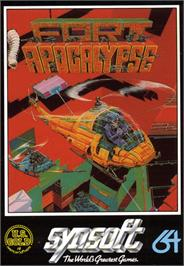 Box cover for Fort Apocalypse on the Commodore 64.