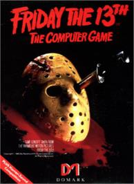 Box cover for Friday the 13th on the Commodore 64.
