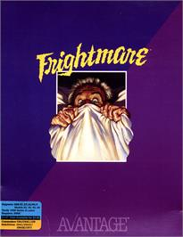 Box cover for Frightmare on the Commodore 64.