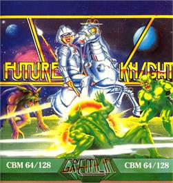 Box cover for Future Knight on the Commodore 64.