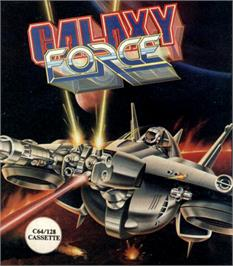 Box cover for Galaxy Force II on the Commodore 64.