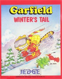 Box cover for Garfield: Winter's Tail on the Commodore 64.