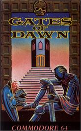 Box cover for Gates of Dawn on the Commodore 64.