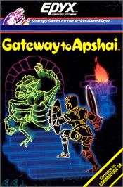 Box cover for Gateway to Apshai on the Commodore 64.