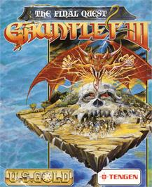 Box cover for Gauntlet III: The Final Quest on the Commodore 64.