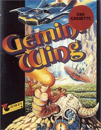 Box cover for Gemini Wing on the Commodore 64.