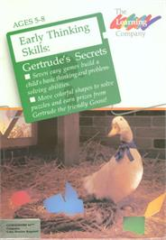 Box cover for Gertrude's Secrets on the Commodore 64.
