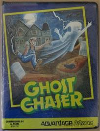 Box cover for Ghost Chaser on the Commodore 64.