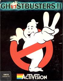 Box cover for Ghostbusters II on the Commodore 64.