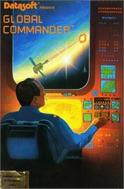 Box cover for Global Commander on the Commodore 64.