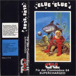 Box cover for Glug Glug on the Commodore 64.