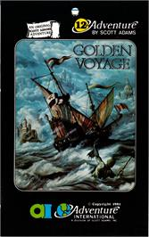 Box cover for Golden Voyage on the Commodore 64.