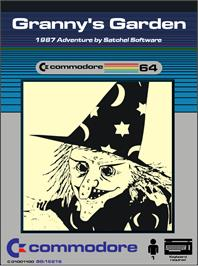 Box cover for Granny's Garden on the Commodore 64.
