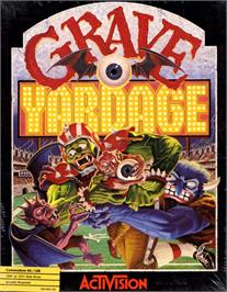Box cover for Grave Yardage on the Commodore 64.