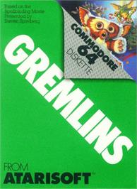 Box cover for Gremlins on the Commodore 64.