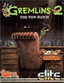 Box cover for Gremlins 2: The New Batch on the Commodore 64.