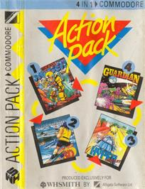 Box cover for Guardian on the Commodore 64.